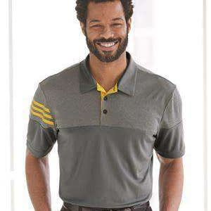 Adidas Men's Heathered Sunblock Polo Shirt - A213