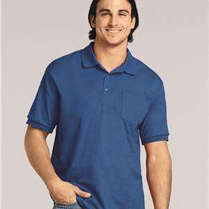 Gildan Men's DryBlend® Pocket Polo Shirt - 8900