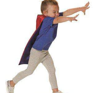 Rabbit Skins Toddler Velcro® Closure Reversible Satin Cape - 1111