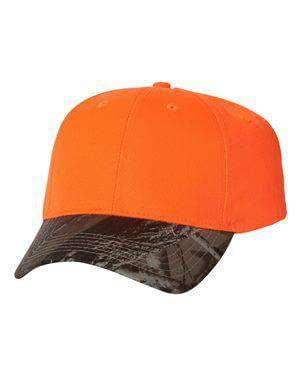 Kati Solid Crown Camouflage Cap - LC25