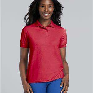 Gildan Women's DryBlend® Double Pique Polo Shirt - 72800L