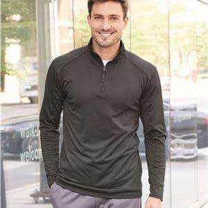 Badger Sport Men's Paneled 1/4-Zip Sweatshirt - 4280
