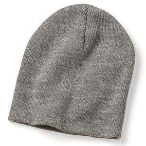 Bayside USA-Made Union No Cuff Knit Beanie - 3888