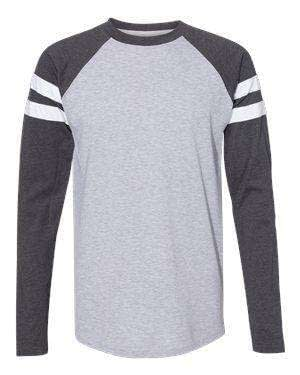 LAT Men's Jersey Mash-Up Long Sleeve T-Shirt - 6934