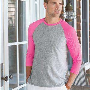 Hanes Men's X-Temp™ 3/4-Sleeve Baseball T-Shirt - 42BA