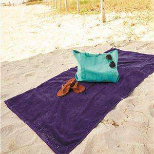 Q-Tees Velour Beach Towel - QV3060
