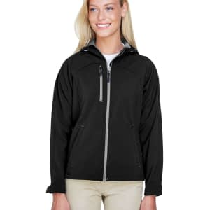 North End Women's Prospect Raglan Fleece Soft Shell Jacket - 78166