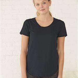 Boxercraft Women's At Ease Scoop Neck T-Shirt - T61