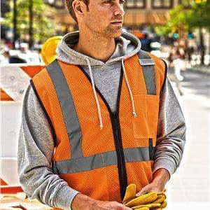 ML Kishigo Men's Economy Reflective Safety Vest - 1520