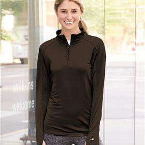 Badger Sport Women's 1/4-Zip Pullover Jacket - 4286