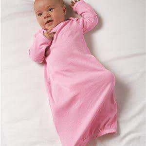 Rabbit Skins Infant Mitten Sleepwear Gown - 4406