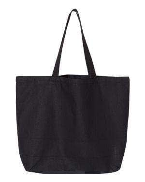 OAD Jumbo Gusseted Canvas Tote Bag - OAD108