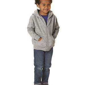 Rabbit Skins Toddler Full-Zip Hoodie Sweatshirt - 3346