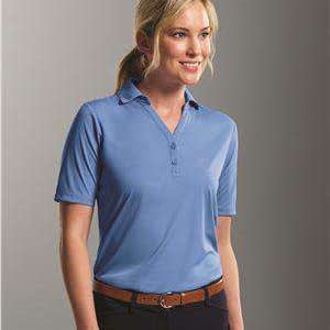 Prim + Preux Women's Dynamic Y-Neck Polo Shirt - 1997L