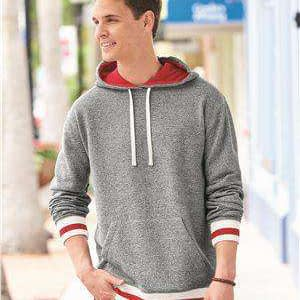 J America Men's Pepper Fleece Lined Hoodie Sweatshirt - 8701