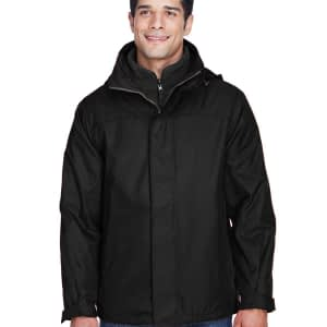 North End Men's 3-in-1 Hooded Full-Zip Jacket - 88130