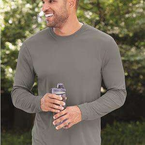 Hanes Men's Cool DRI™ Long Sleeve T-Shirt - 482L