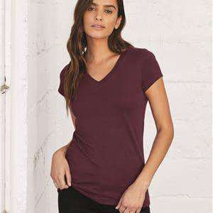 Bella + Canvas Women's Jersey V-Neck T-Shirt - 6005