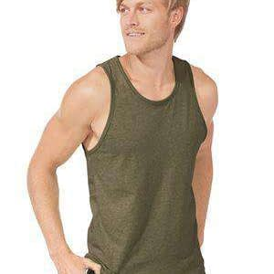 Next Level Men's Side Seam Self-Fabric Tank Top - 6233