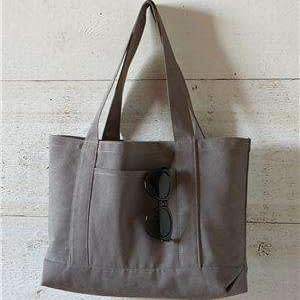 Liberty Bags Premium Gusseted Canvas Tote Bag - 8870