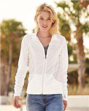 Independent Trading Women's Poly-Tech Track Jacket - EXP60PAZ