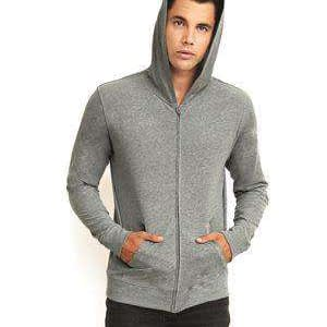 Next Level Unisex Sueded Jersey Hoodie Sweatshirt - 6491