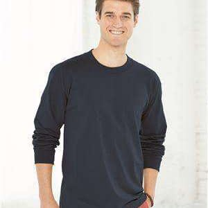 Bayside Men's USA-Made Long Sleeve T-Shirt - 6100