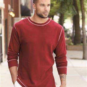 J America Men's Vintage Long Sleeve Thermal T-Shirt - 8238