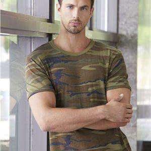 Alternative Men's Eco-Jersey® Slim Camo T-Shirt - 1973