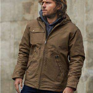 Dri Duck Men's Yukon Insulated Hoodie Canvas Jacket - 5065