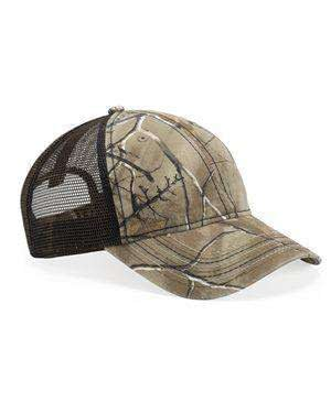 Outdoor Cap US Flag Unstructured Camouflage Cap - CWF310