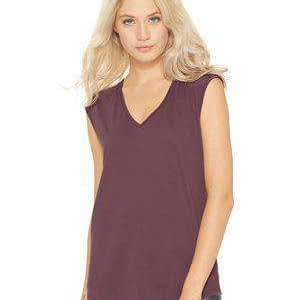 Next Level Women's Sleeveless V-Neck T-Shirt - 5040