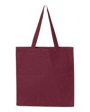 Q-Tees Promotional Canvas Tote Bag - Q800