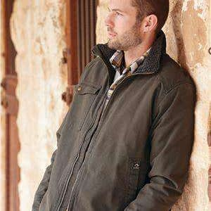 Dri Duck Men's Endeavor Sherpa-Lined Canvas Jacket - 5037