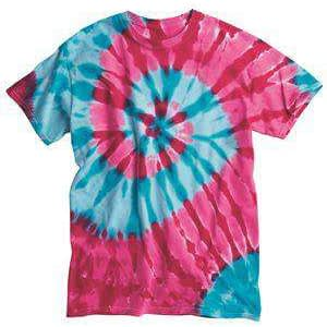 Dyenomite Men's Typhoon Tie-Dye T-Shirt - 200TY