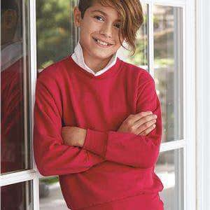 Hanes Youth EcoSmart® Crew Neck Sweatshirt - P360