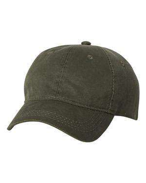 Outdoor Cap Unstructured Weathered Twill Cap - HPD605
