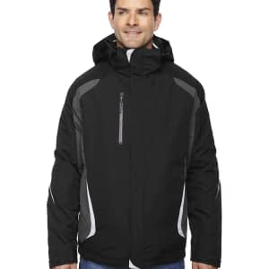 North End Men's Height 3-in-1 Insulated Hooded Jacket - 88195