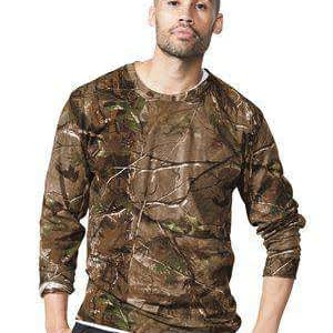 Code Five Men's Long Sleeve Realtree® Camo T-Shirt - 3981