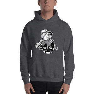 Mens Night Baseball Hoody