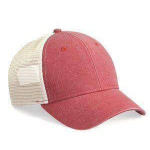 Sportsman Stuctured Pigment-Dyed Trucker Cap - SP530