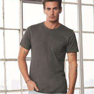Bella + Canvas Men's Jersey Pocket T-Shirt - 3021