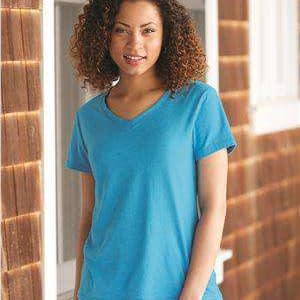 Hanes Women's X-Temp™ Wicking V-Neck T-Shirt - 42V0