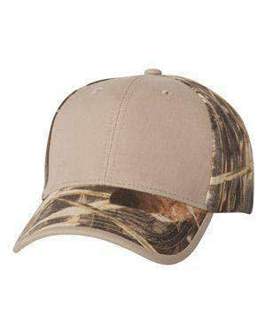 Kati Solid Front Camouflage Cap - LC102