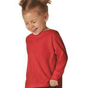 Rabbit Skins Toddler Jersey Long Sleeve T-Shirt - 3302