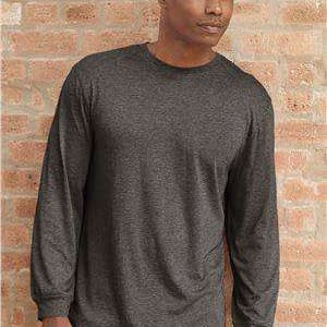 Badger Sport Men's Tri-Blend Long Sleeve T-Shirt - 4944