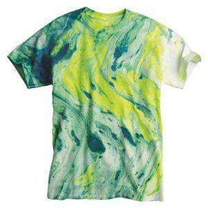 Dyenomite Men's Marble Tie-Dye T-Shirt - 200MR
