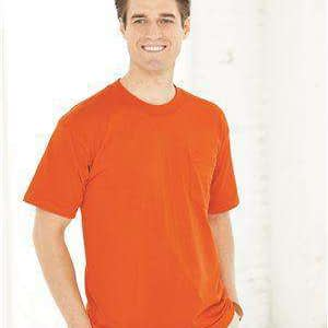 Bayside Men's USA-Made Crew Neck Pocket T-Shirt - 1725