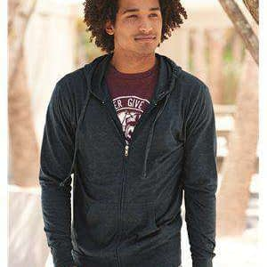 Independent Trading Men's Full-Zip Hoodie Sweatshirt - SS150JZ