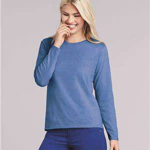 Gildan Women's Heavy Cotton™ Long Sleeve T-Shirt - 5400L